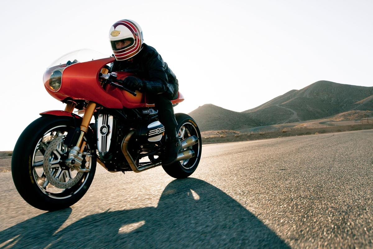 BMW's Concept Ninety is a tribute to the BMW R 90 S released four decades ago.
