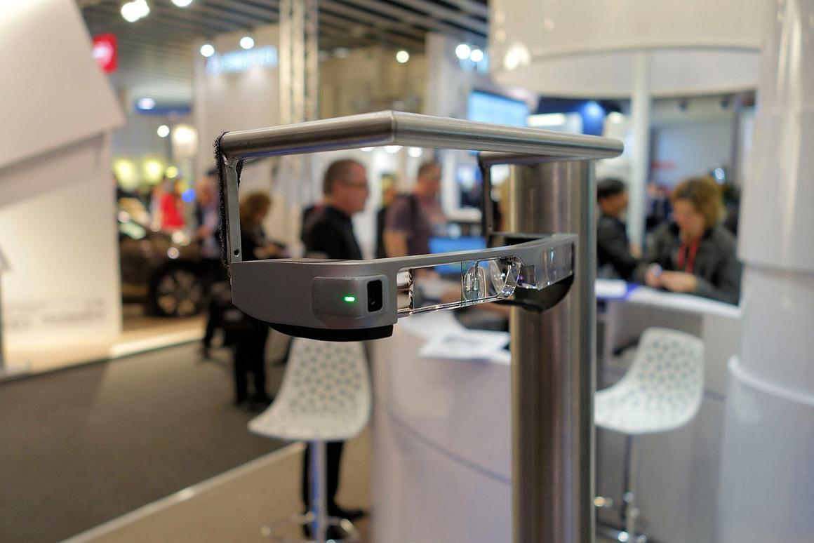 Epson's new augmented reality glasses are lighter and more powerful than ever