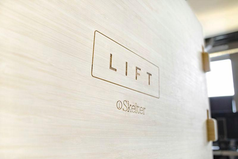 The standard Lift is made from either natural or hazelnut bamboo