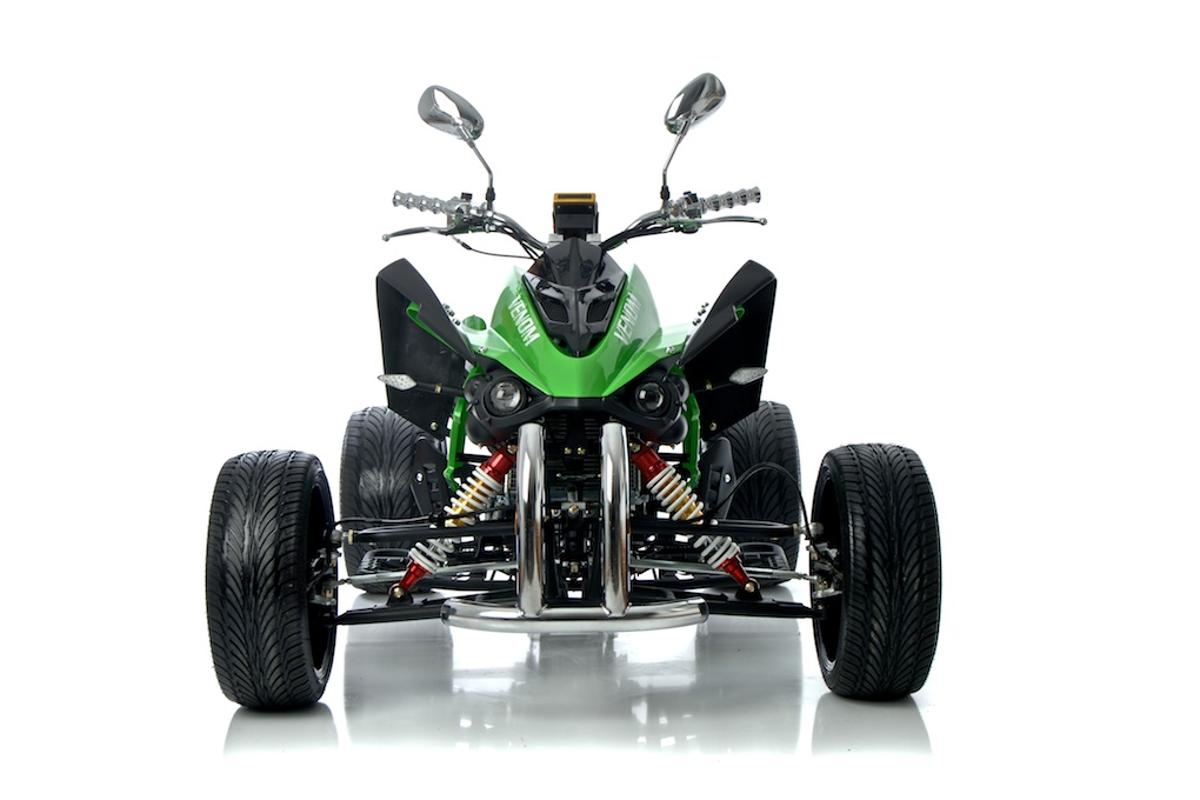 The Venom Evil road legal quad from QuadBike Ltd