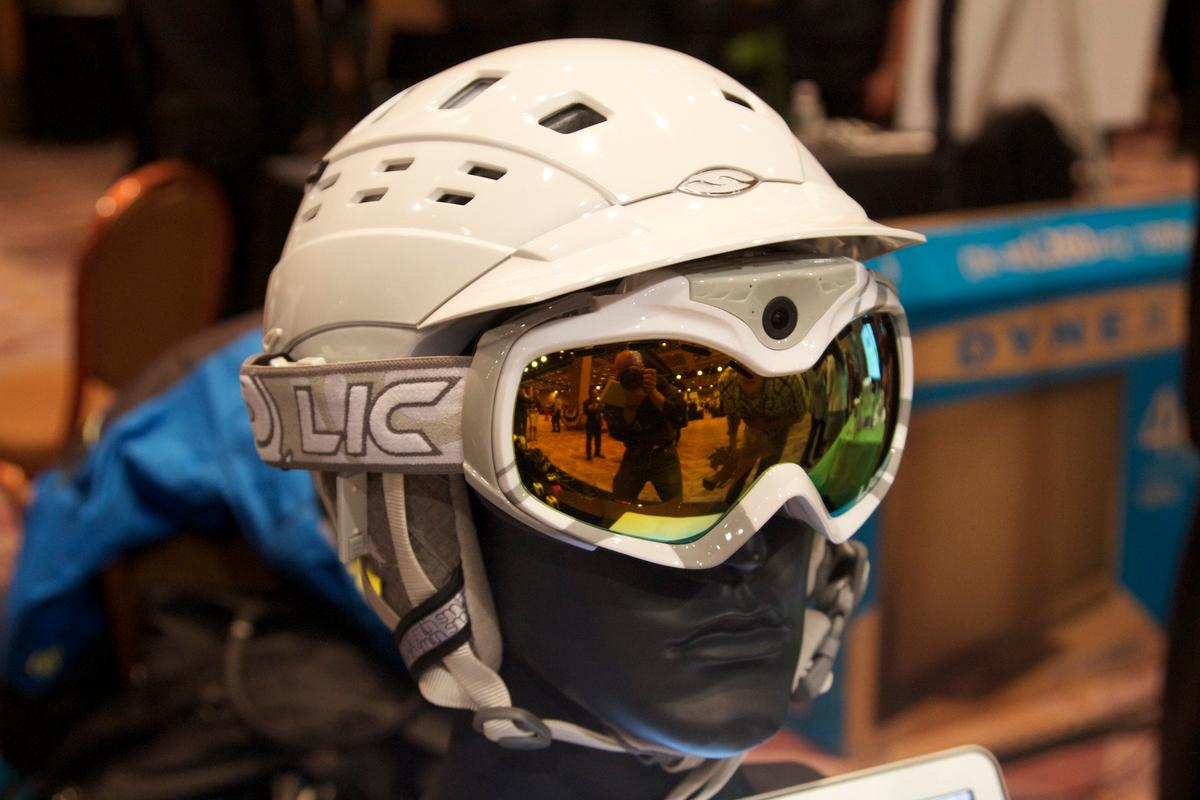 Liquid Image has revealed two new action sport goggles with built-in camera, GPS and Wi-Fi - one for snow sports and one for off-road activities (shown)