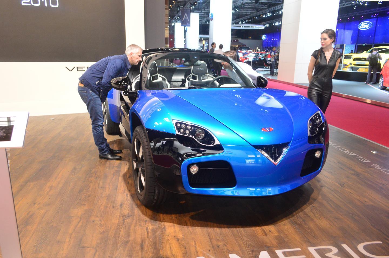 The 2014 Venturi America concept buggy in Paris (Photo: C.C. Weiss/Gizmag)
