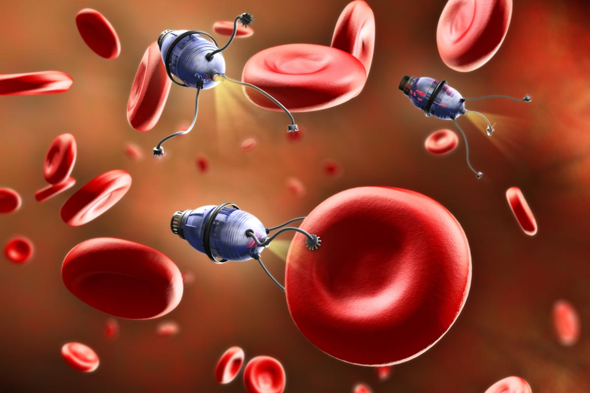 Scientists report that they have designed new nanorobots (not the ones pictured here) capable of moving through bodily fluids with relative ease