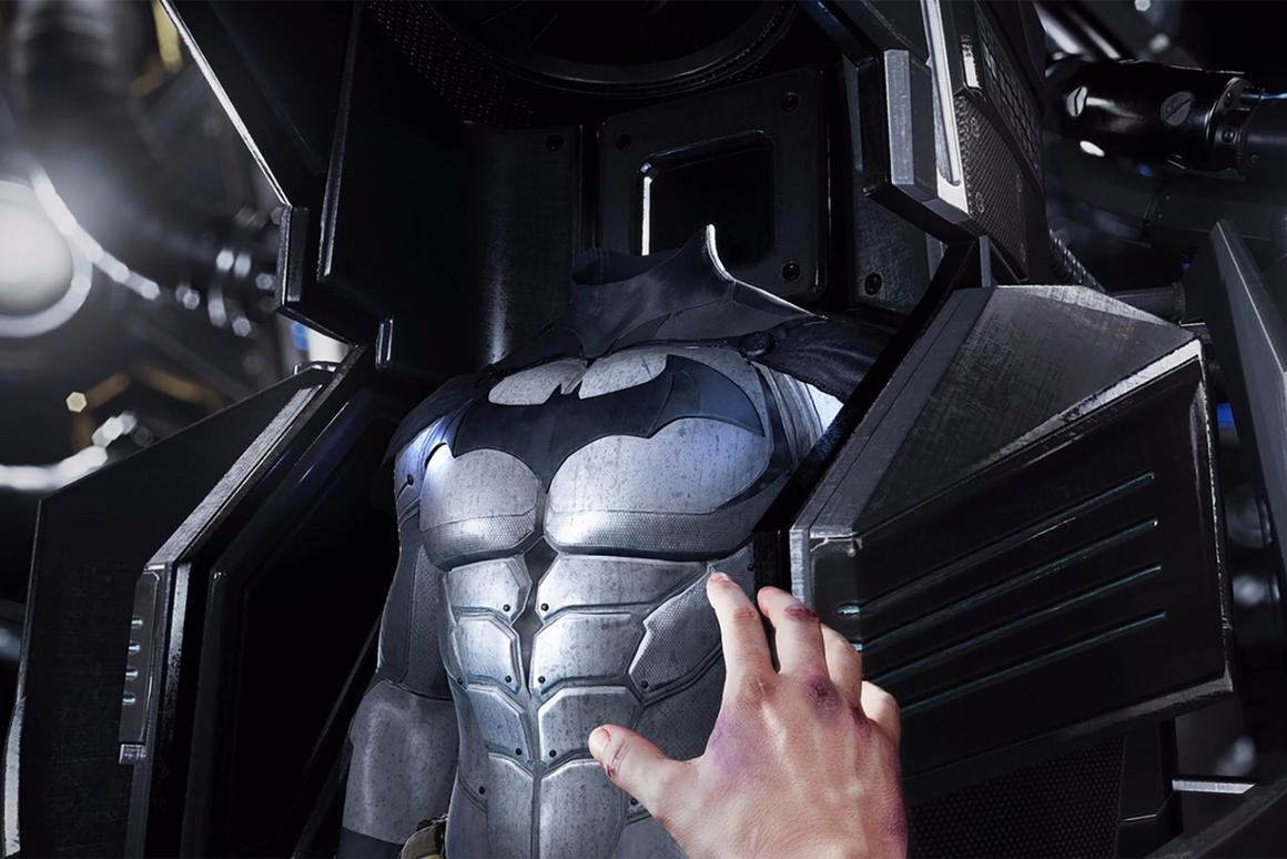 Starting today, you can battle as Batman in PC-based virtual reality