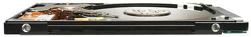 The Seagate Momentus Thin 7mm hard drive.