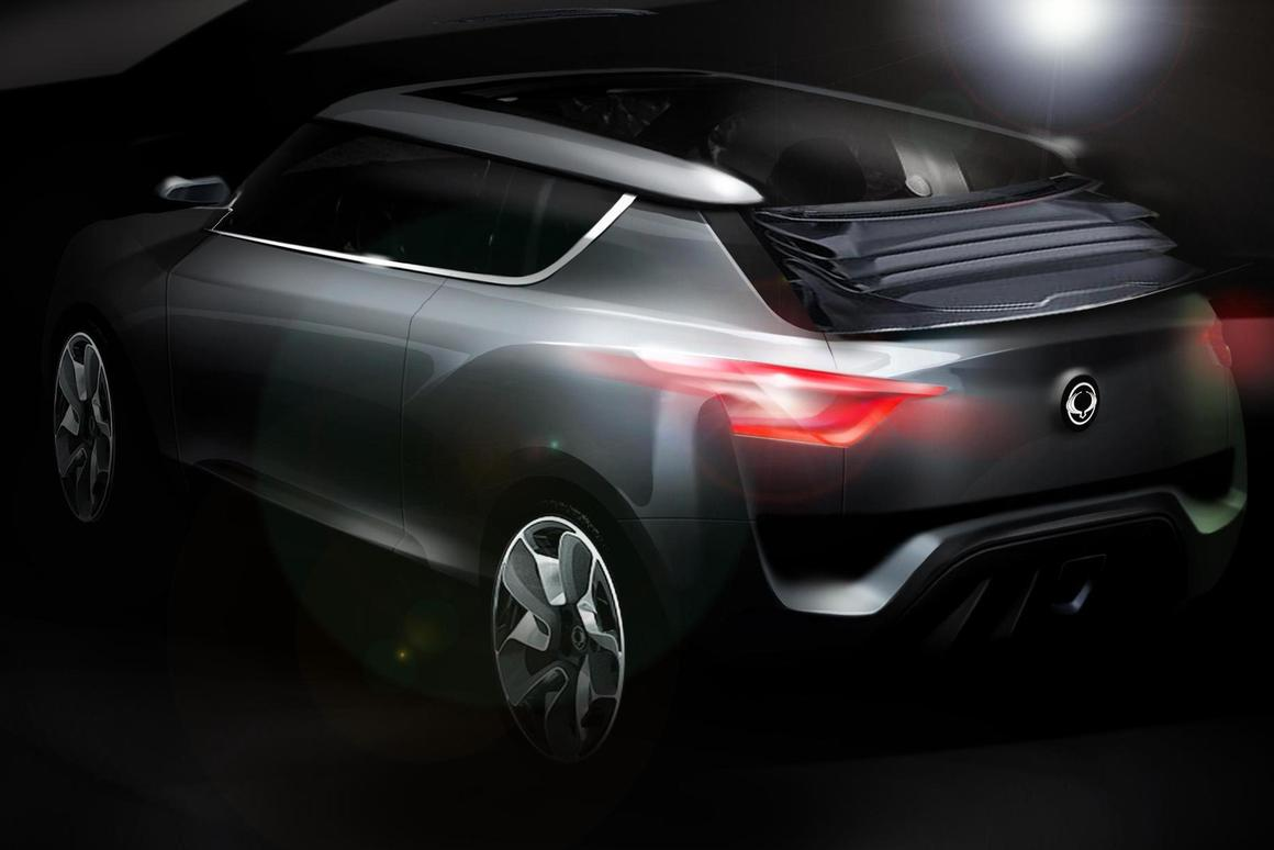 The Ssangyong XIV-2 Concept will be shown in Geneva