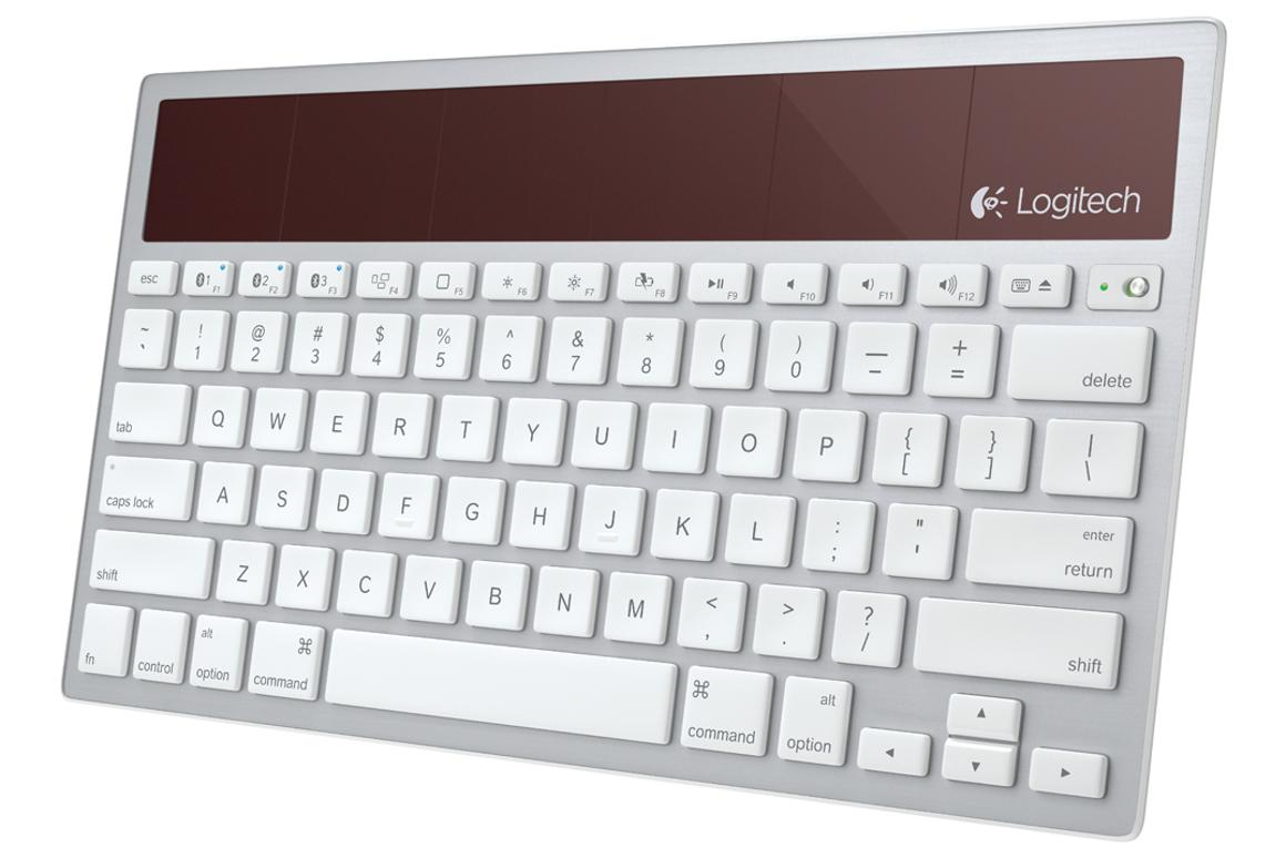 Logitech adds Bluetooth to its K760 solar keyboard for Mac