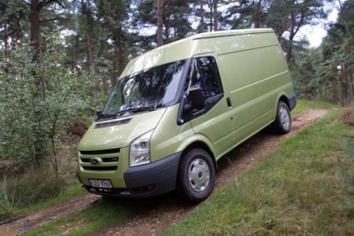 Transparent All-wheel-drive Ford Transit revealed at Hanover