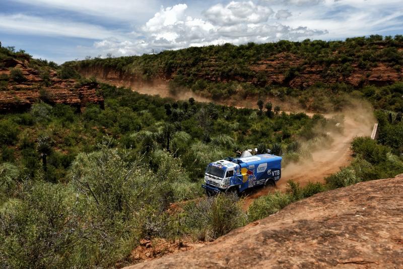 Kamaz at Dakar 2016