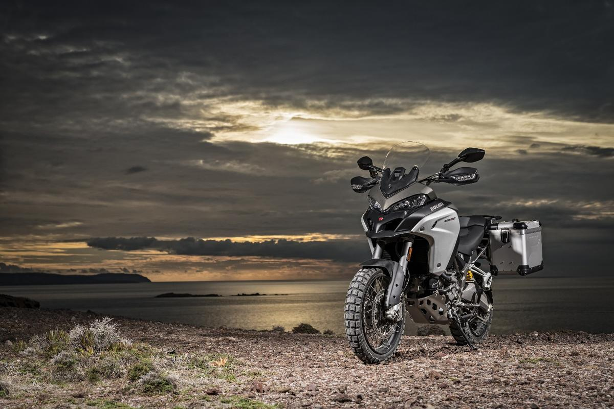 The Ducati Multistrada Enduro is built with more off-road potential
