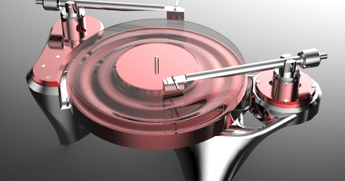 Curvy high-end turntable being readied for Munich launch