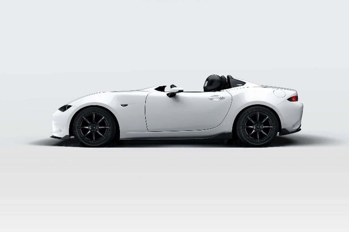 The Mazda MX-5 Speedster Evolution is one of two concepts to be shown at SEMA 2016