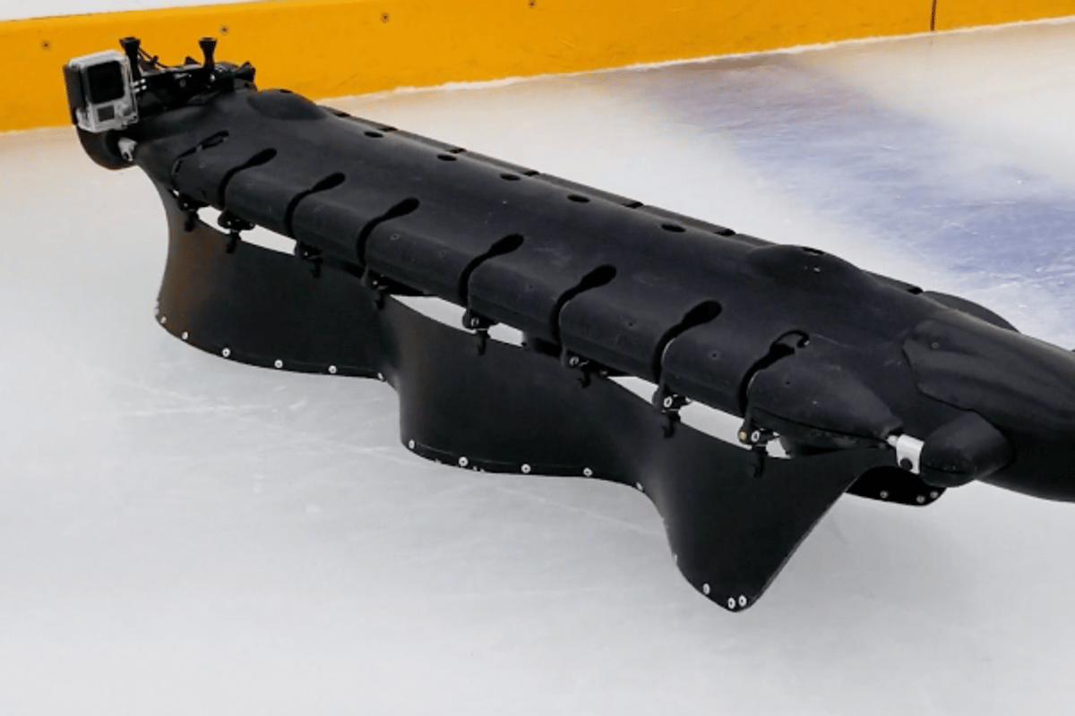 The Velox robot recently learned how to ice skate