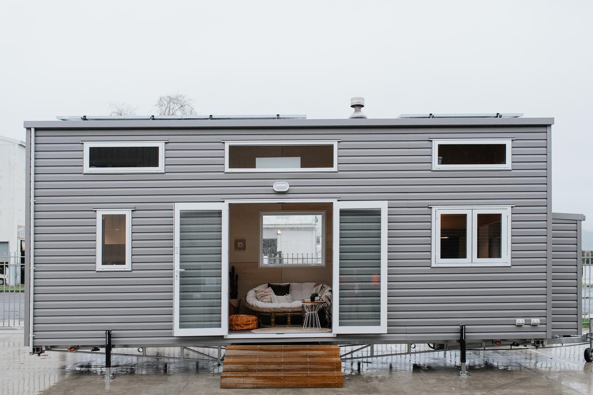 The Kahurangi Koinga Tiny House was delivered as a turnkey model for NZD 148,500 (roughly US$94,000)