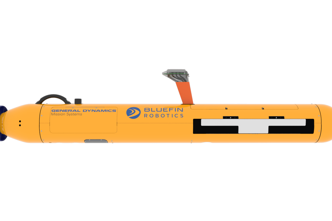 General Dynamics' latest unmanned underwater vehicle crams