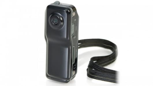 The diminutive Muvi Micro Camcorder
