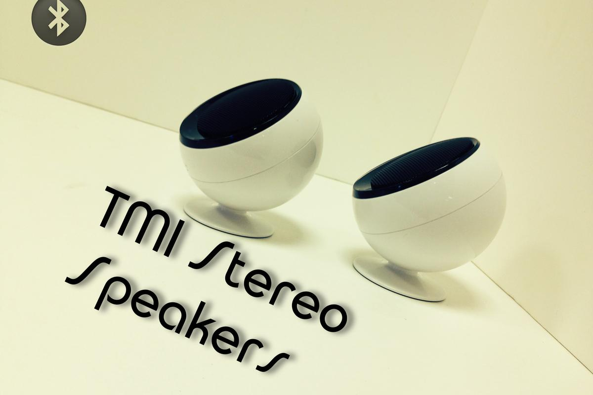 TMI's split Bluetooth speakers