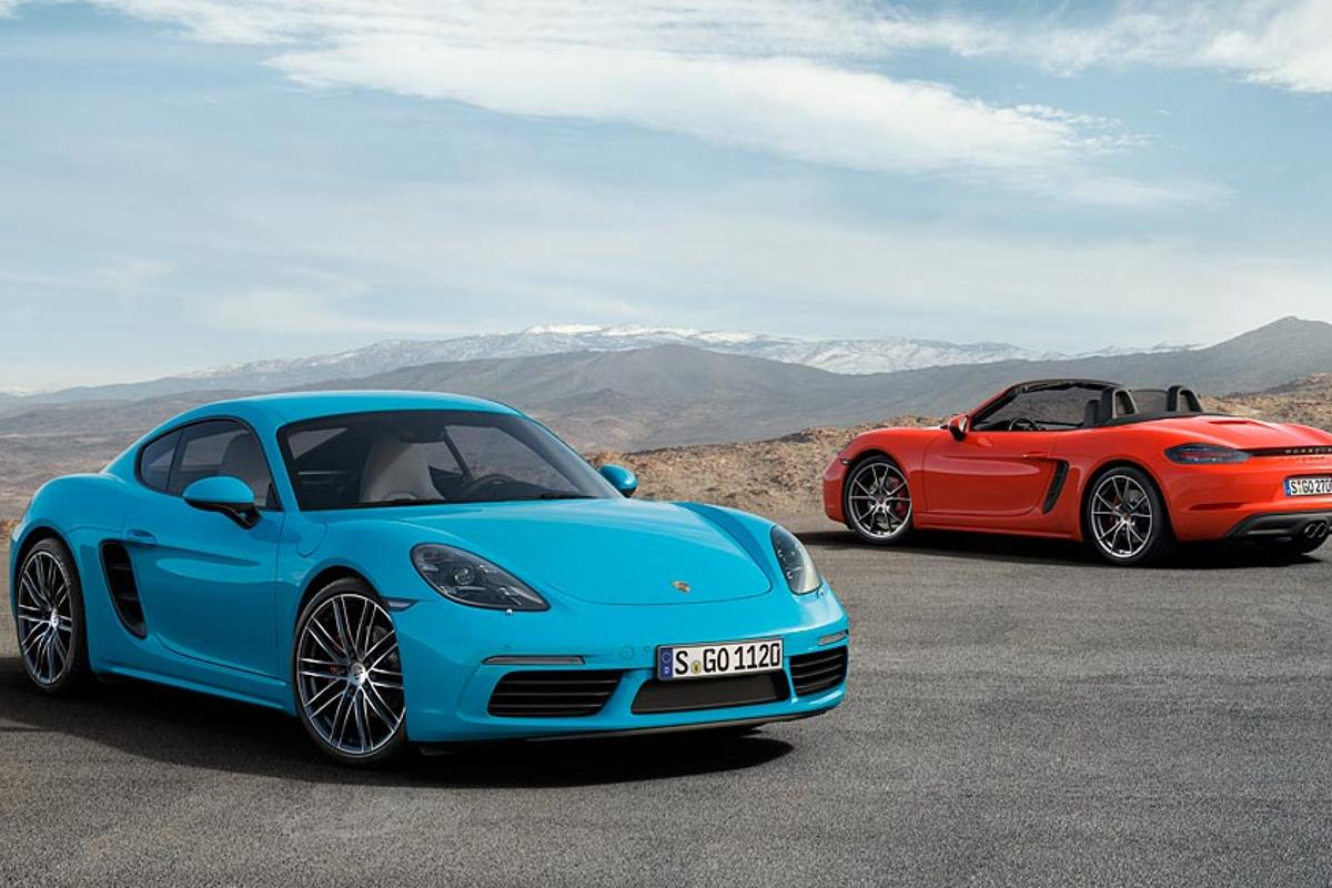 Shall I take the blue or the red Cayman today?