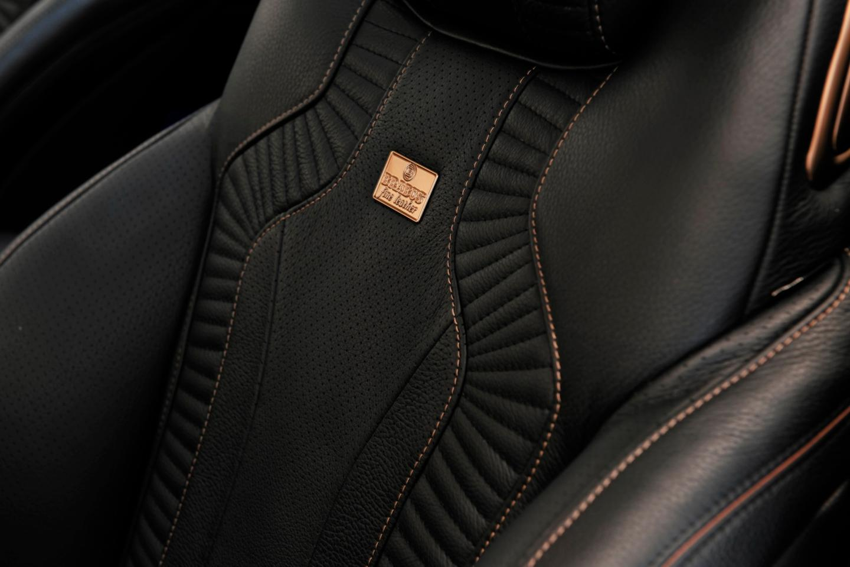 Inside the Brabus 850 6.0 Biturbo Coupe