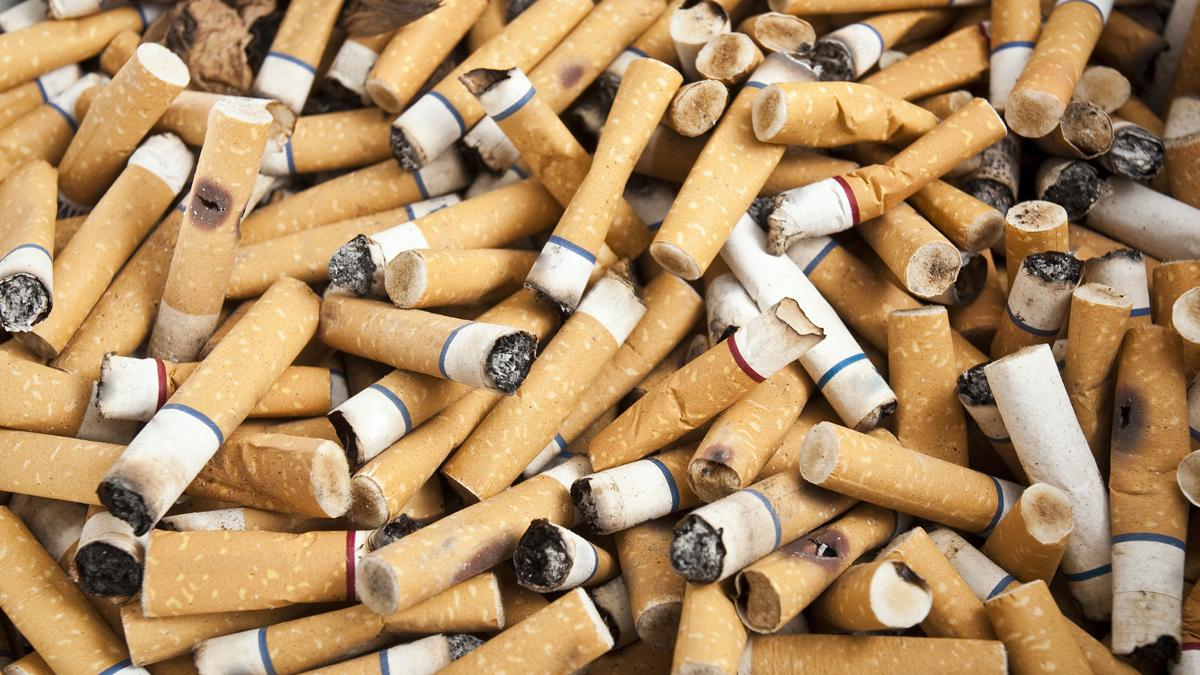 Research from the Seoul National University suggests that discarded cigarette butts could be used as a high-performance energy storage material (Photo: Shutterstock)