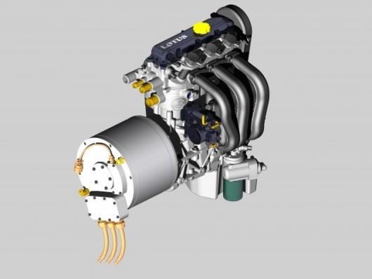The Lotus Range Extender Engine will maintain hybrid vehicle efficiency and range while reducing the weight and expense of batteries