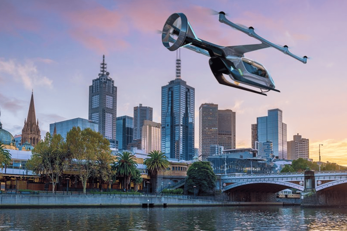Uber says its flying taxis could begin test flights in Melbourne next year