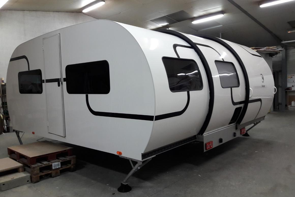 3X Triple Action Burner beauer's latest expanding camping trailer sleeps a family of six
