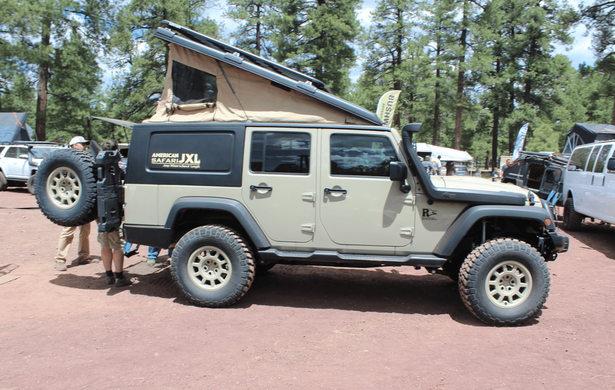 Red River Rigs debuts the American Safari JXLat Overland Expo West 2018