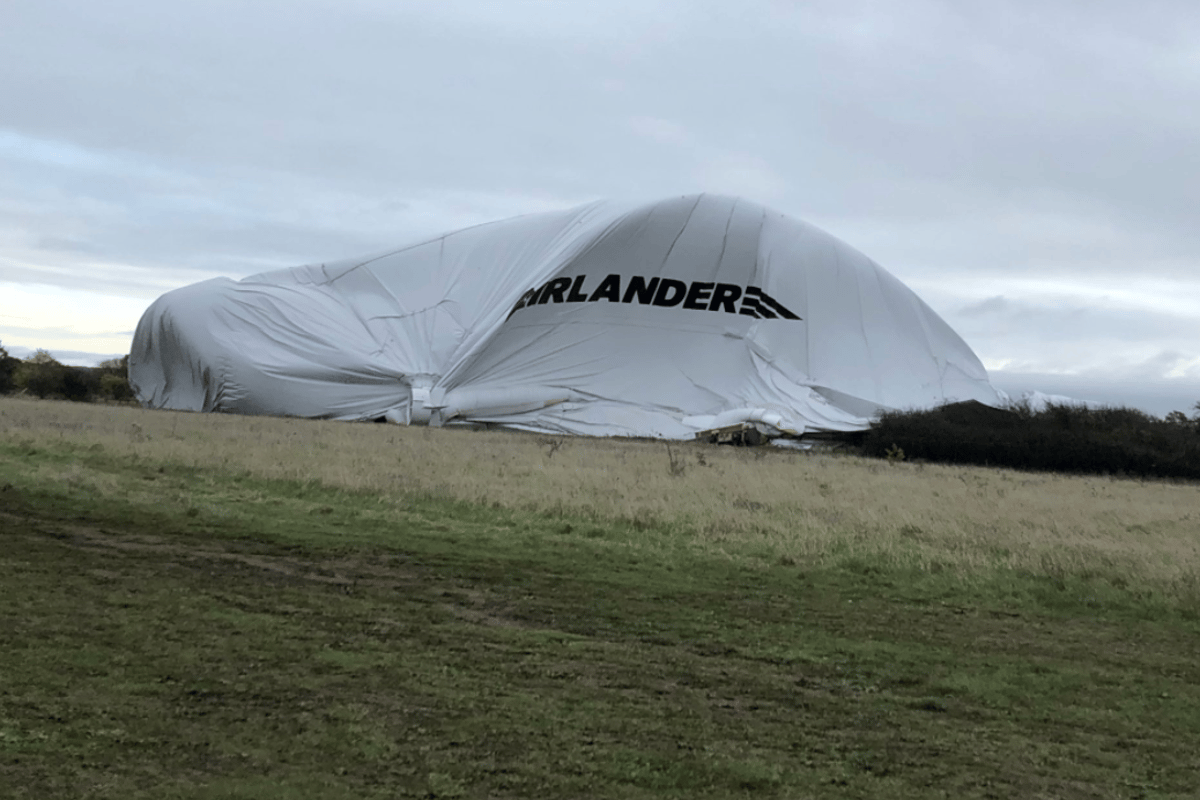 The Airlander 10 suffered a setback this weekend after breaking free of its mooring and deflating