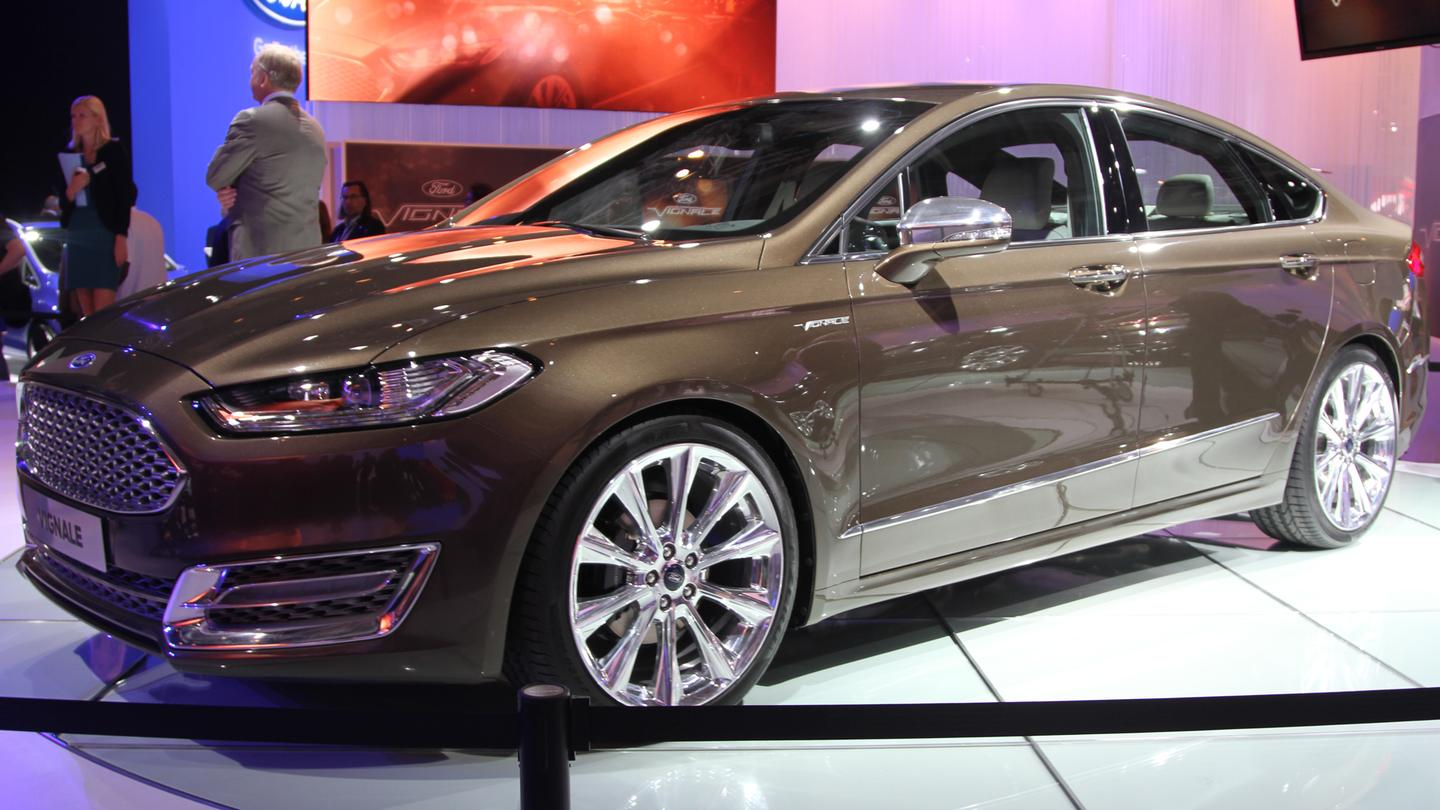 Ford plans to launch an upscale Vignale model by 2015