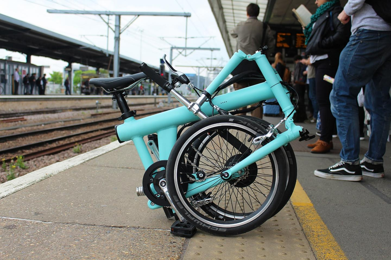 Flit-16 folding e-bike taps automotive design for stylish