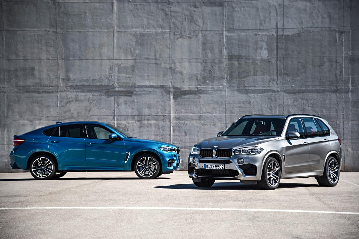 The new X5 M and X6 M are powered by a 4.4-liter, twin-turbocharged V8 engine