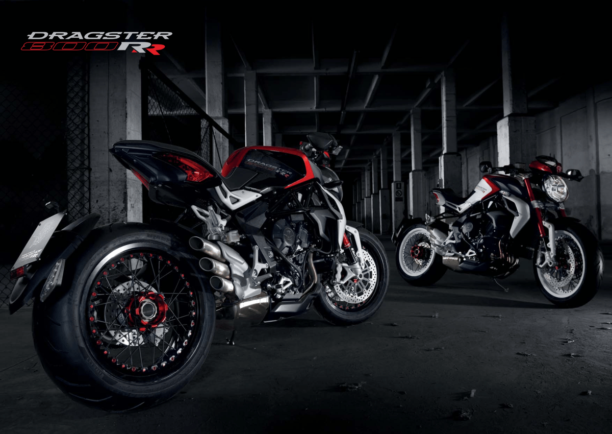 The MV Agusta Brutale Dragster 800 RR is ridiculously good looking and boasts a nice performance upgrade to boot