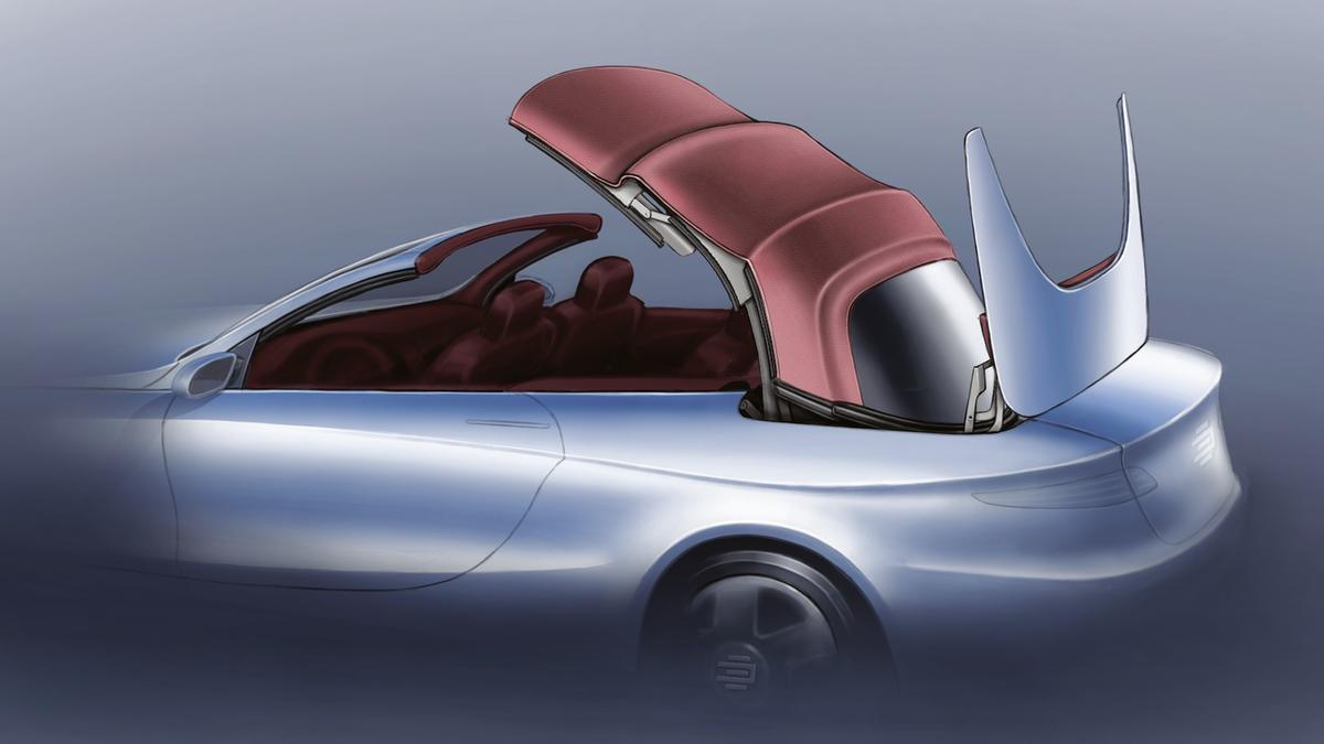EDAG is set to show a completely new type of roof system in Geneva which combines the advantages of a soft top and a retractable hardtop.