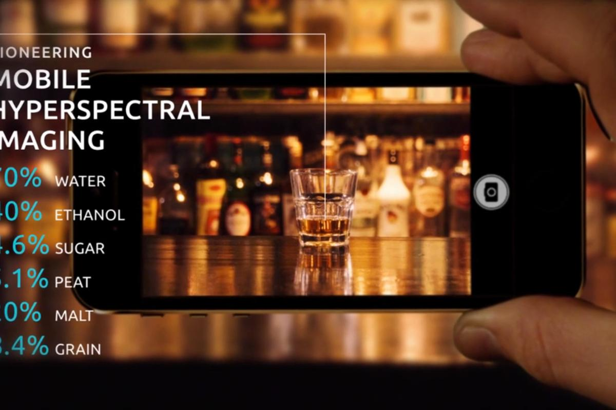 The Unispectral camera and software could tell you what's in your drink, as an example