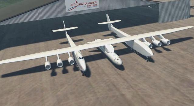 Stratolaunch Systems has announced new developments in its air launch system for spacecraft, which will incorporate the world's largest airplane
