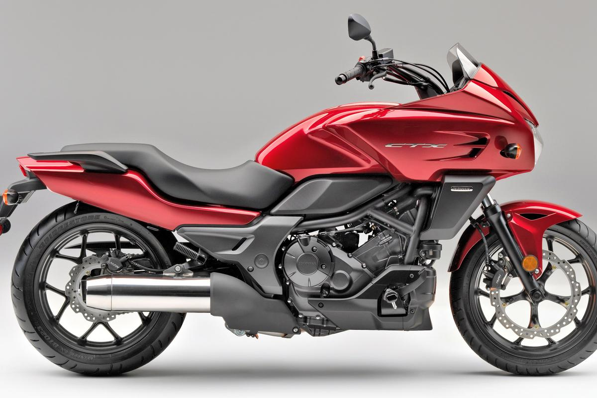 Honda's new 2014 CTX700 motorcycle