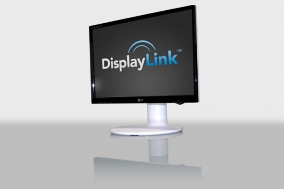 DisplayLink and LG Electronics USB computer monitor