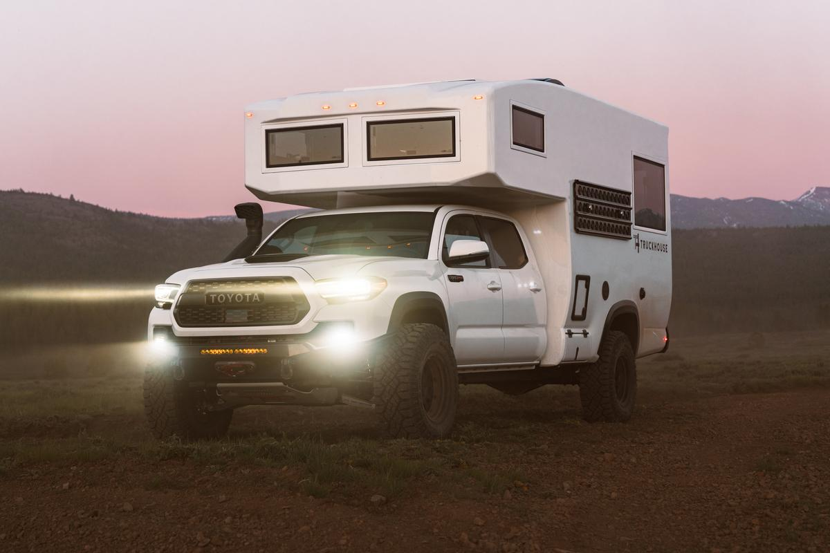 After a preview earlier this year, TruckHouse is now rolling out fully built BCT truck campers