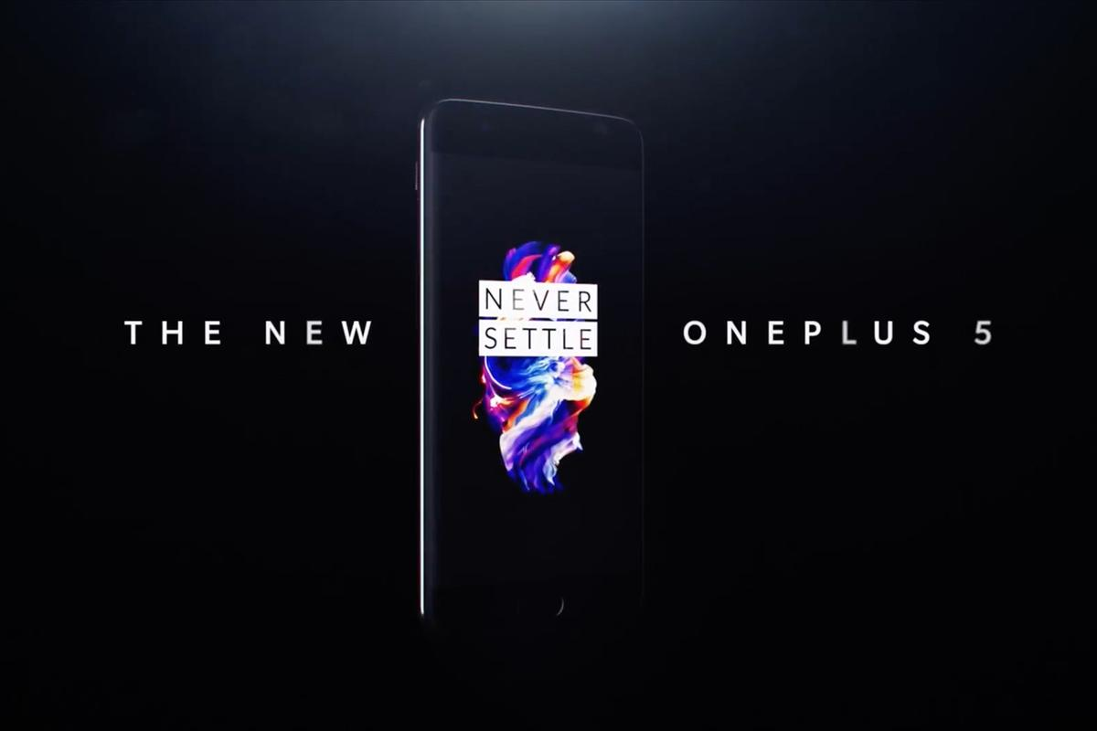 The OnePlus 5 is official