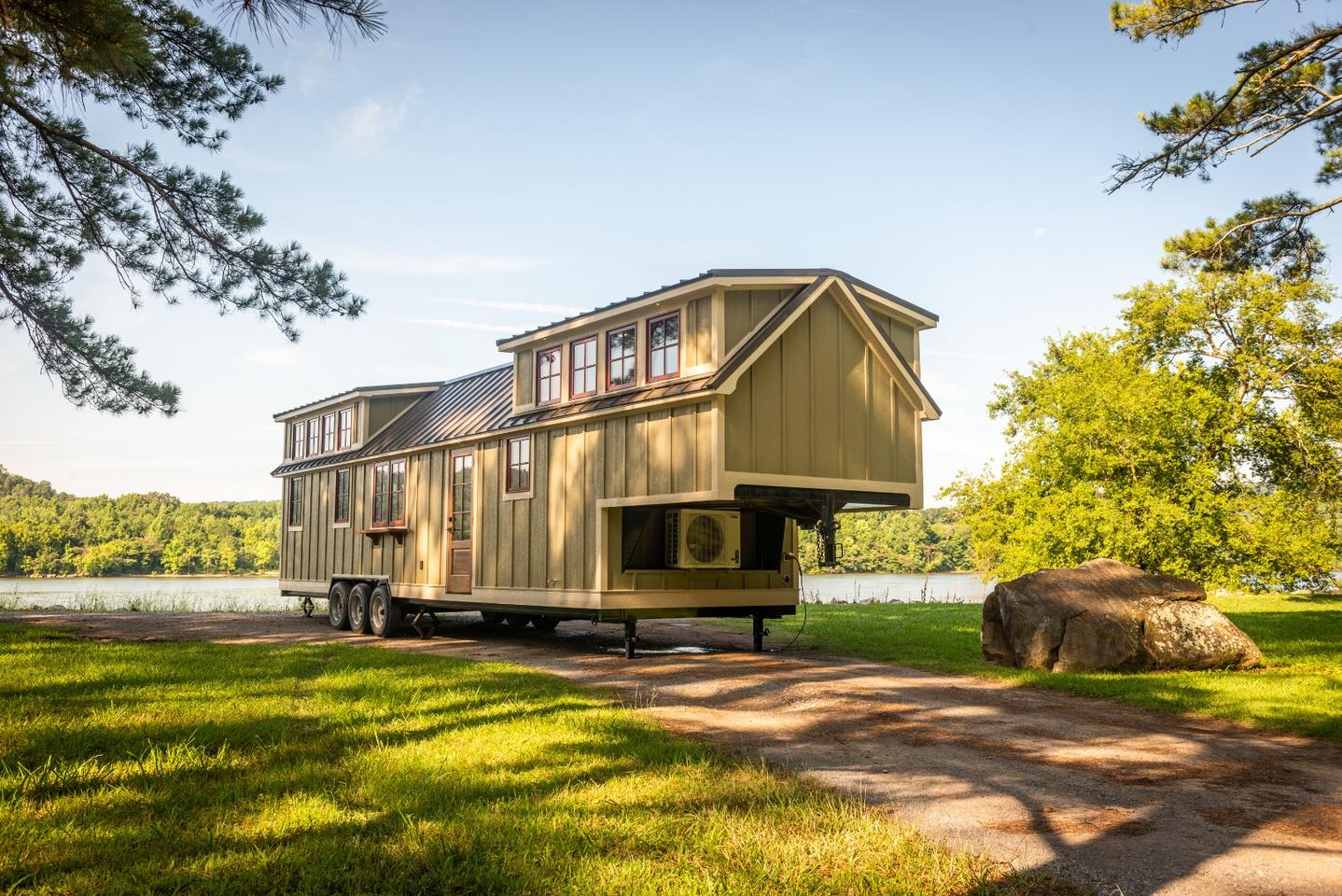 One of the best luxury tiny houses on the market, the Denali, has been made bigger and quite possibly better with the release of the Denali XL