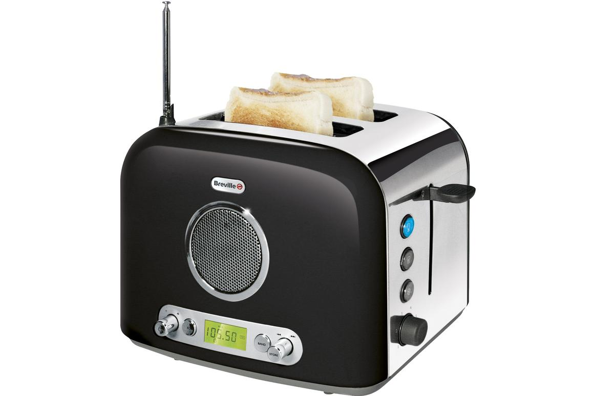 UK kitchen appliance manufacturer Breville has taken two kitchen favorites and merged them into one device, the Radio Toaster