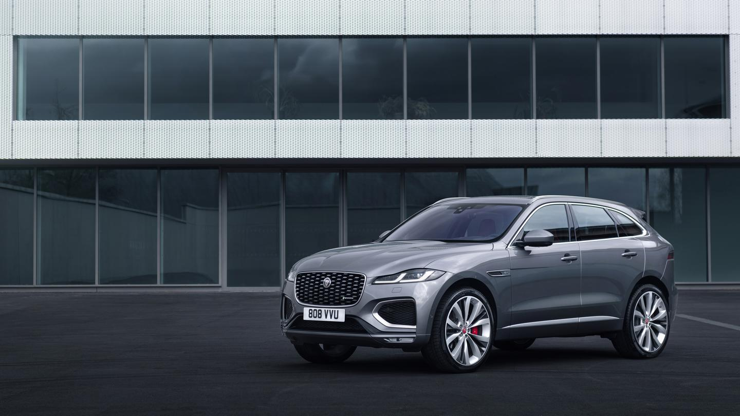 The all-new Jaguar F-Pace