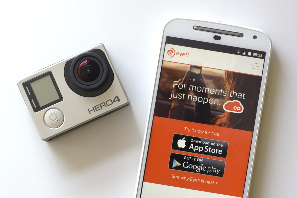 Users of Wi-Fi enabled GoPro and Olympus cameras will be able to use Eyefi Mobi apps and Eyefi Cloud without a wireless memory card