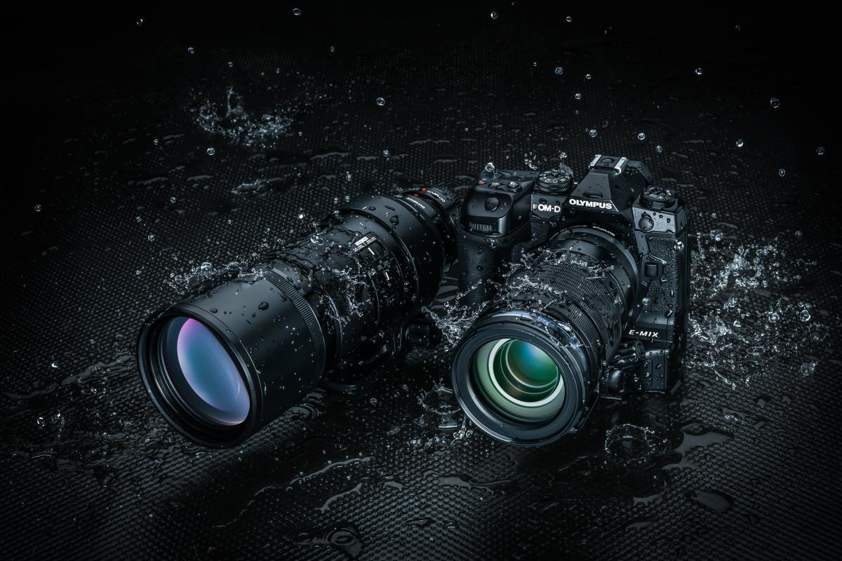 The OM-D E-M1X is designed for use in a wide variety of locations