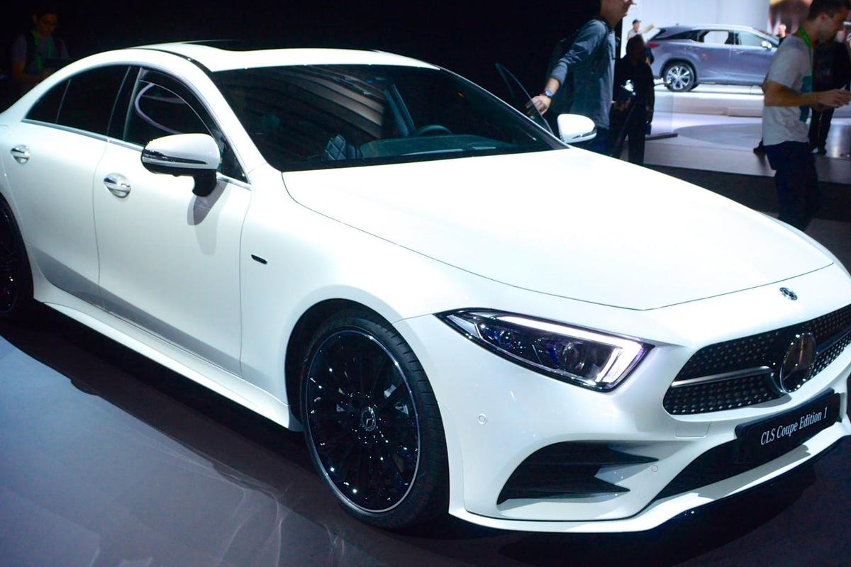 Mercedes CLS Coupe Edition 1 at the 2017 LA Auto Show
