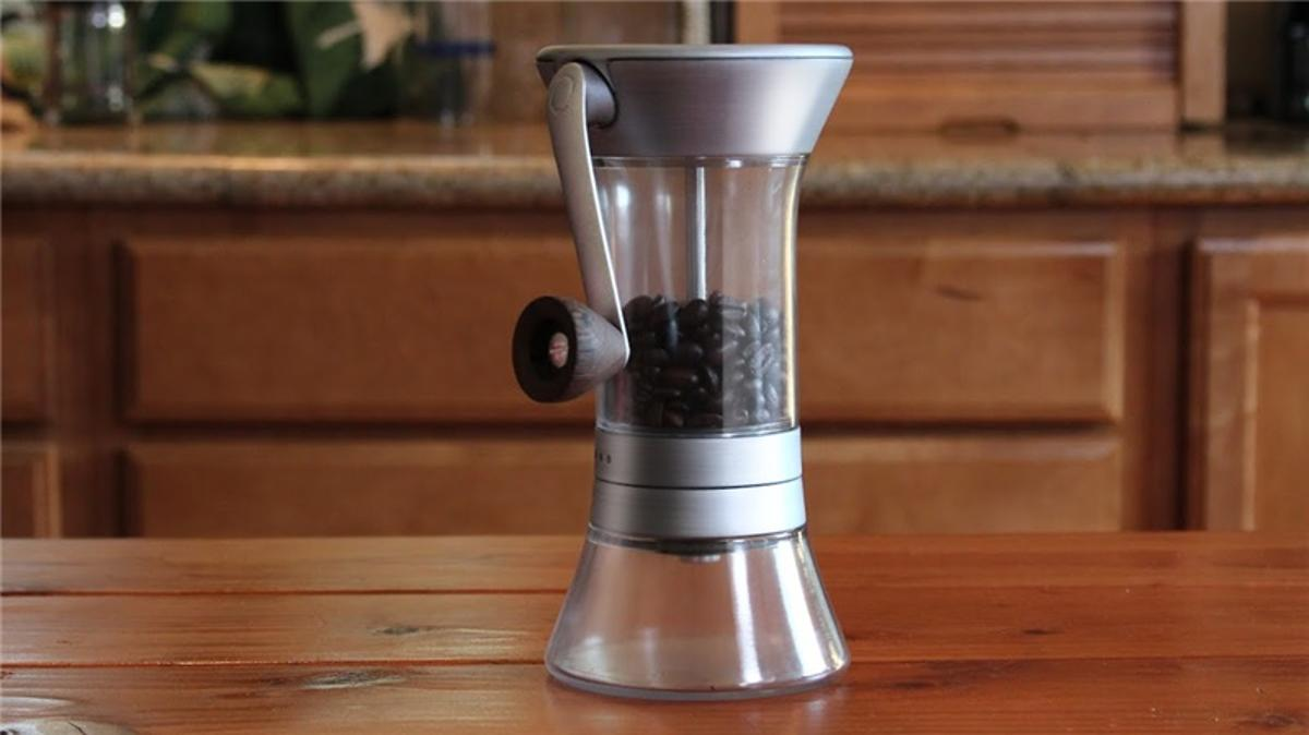 The Handground coffee grinder is a crowdsourced design that promises a consistent and precision grind