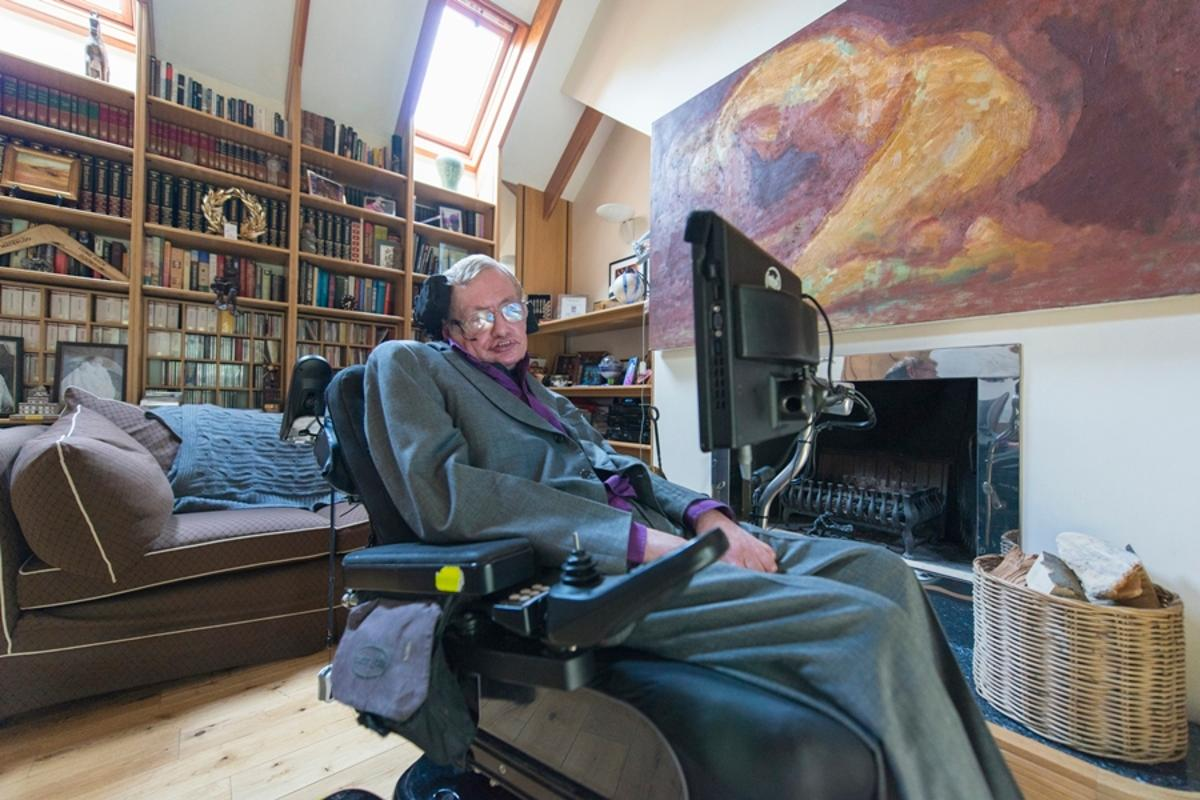 Intel has worked with Stephen Hawking for three years to create a new communications system called the Assistive Context Aware Toolkit