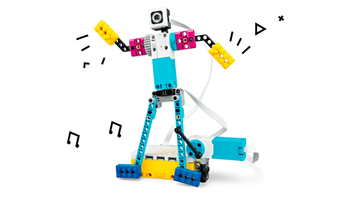 The Spike Prime set includes hundreds of Lego bricks, sensors and motors, a programmable multi-port Hub, and a companion app featuring a block-based coding environment
