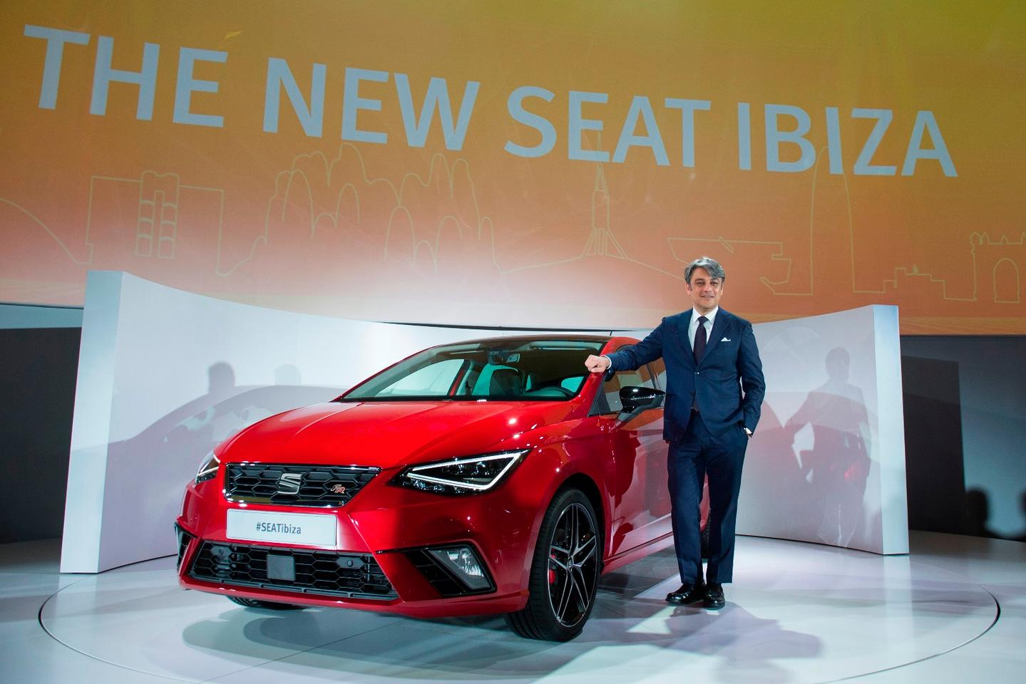 The new Ibiza at launch